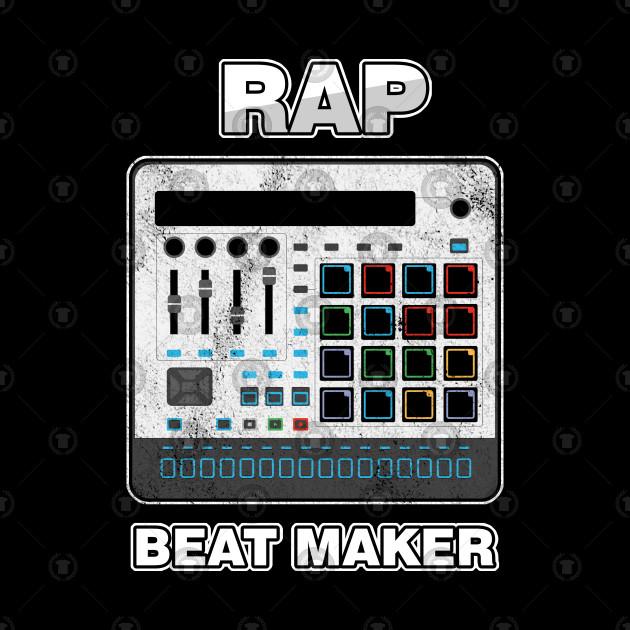 Rap Beat Maker Pop Music Vocal Performer Hip Hop Rapping Gift by psykograf