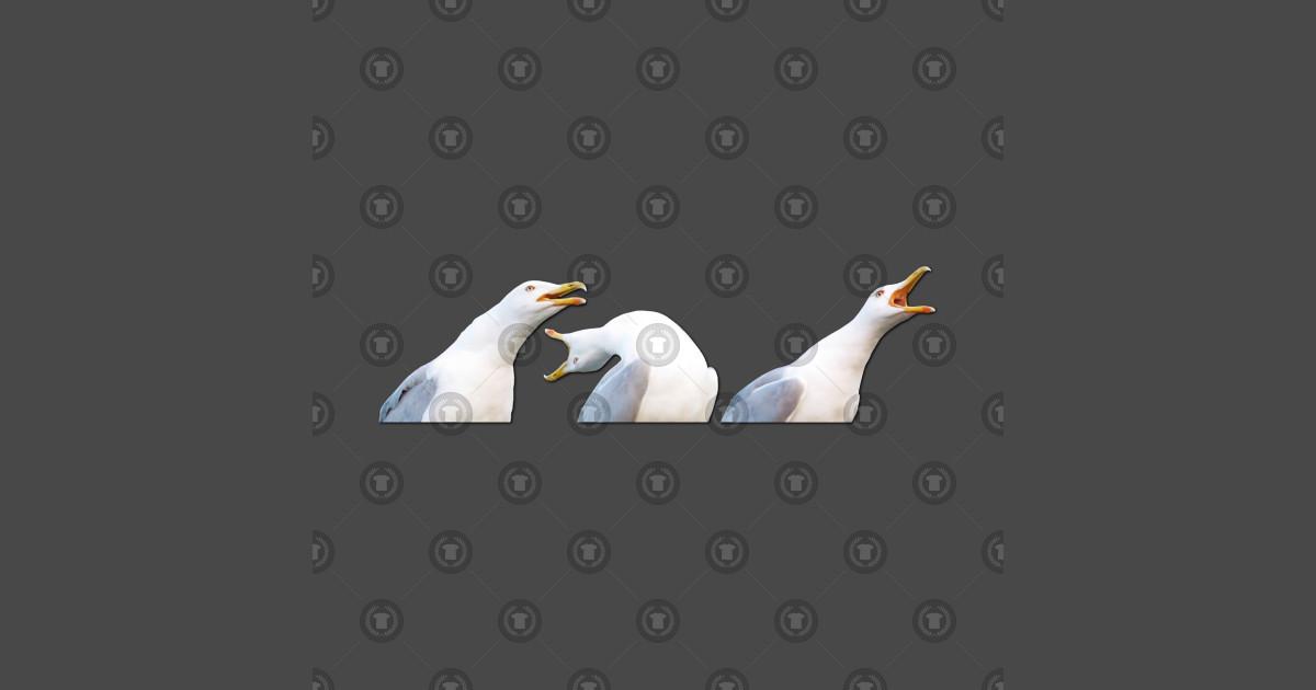Inhaling Seagull - Meme - Mug   TeePublic