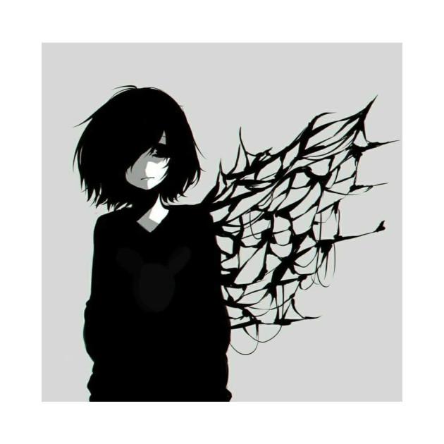 Sad Anime girl - Sad Anime Girl - Tote | TeePublic