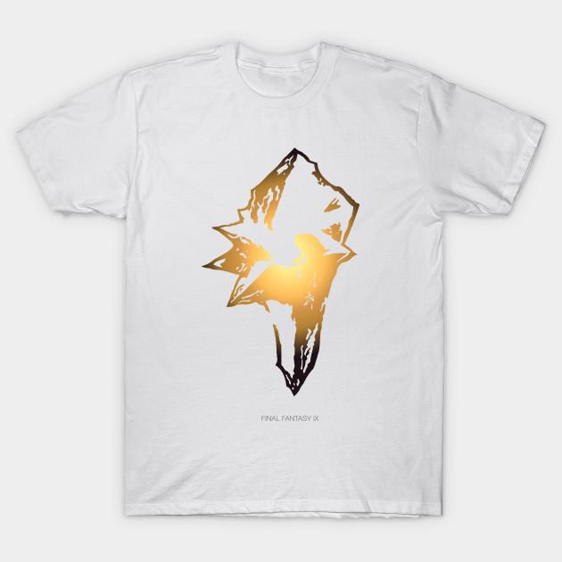 5494c17ee4f98 Final Fantasy IX - Logo - T-Shirt