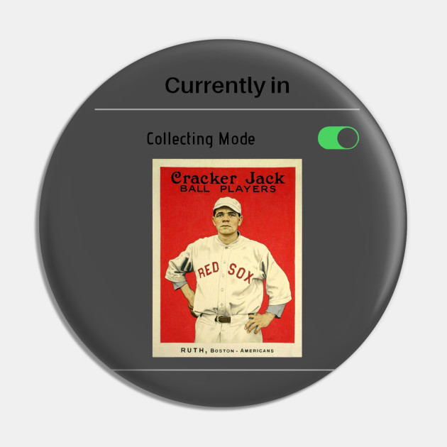 Currently in Collecting Mode Baseball Card Design