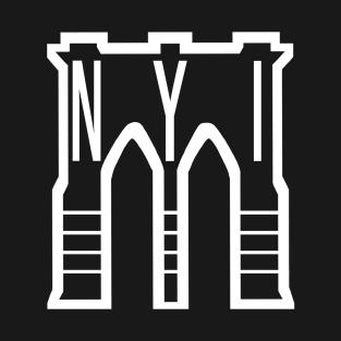 The Bridge in Brooklyn t-shirts