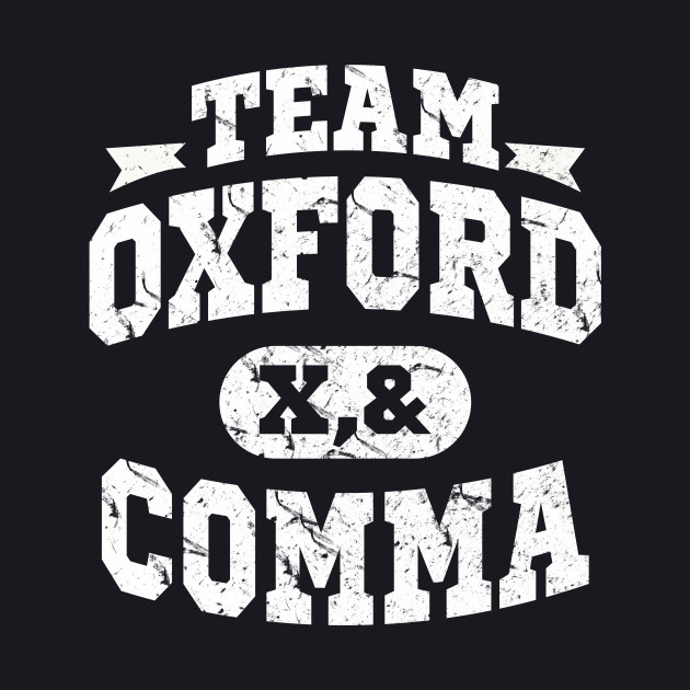 Team Oxford Comma