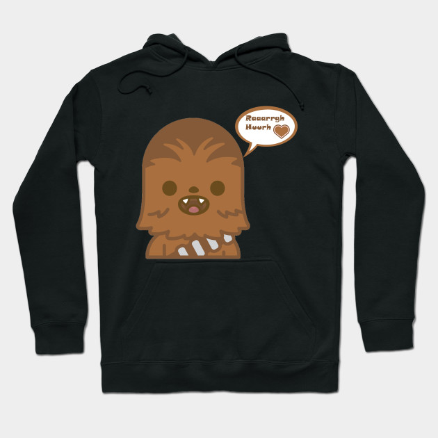 308075cc1 Baby Chewie loves you - Darth Vader - Hoodie | TeePublic