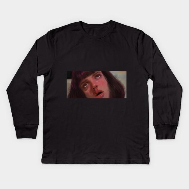 714f32d9d Mia Wallace - Pulp Fiction - Kids Long Sleeve T-Shirt | TeePublic