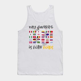 7a748da6bf0373 My Favorite Soccer World Cup Team Jersey Russia 2018 Shirt Tank Top