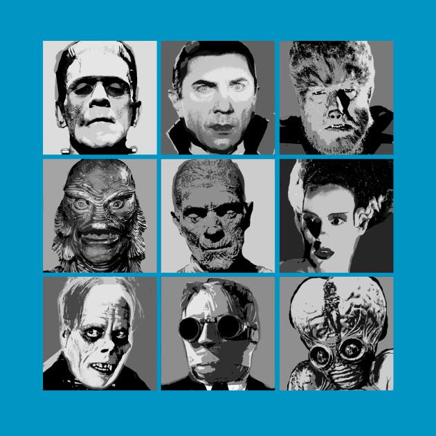 Universal Warhol (Black & White)