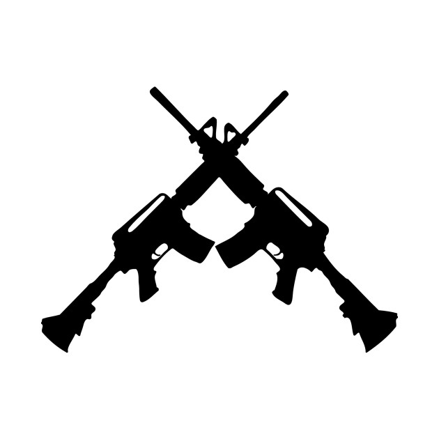 US Army M4 rifle   Stock Photo   Colourbox  Crossed Guns M4