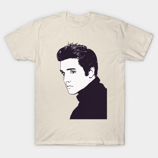 Elvis PRESLEY T SHIRT artwork