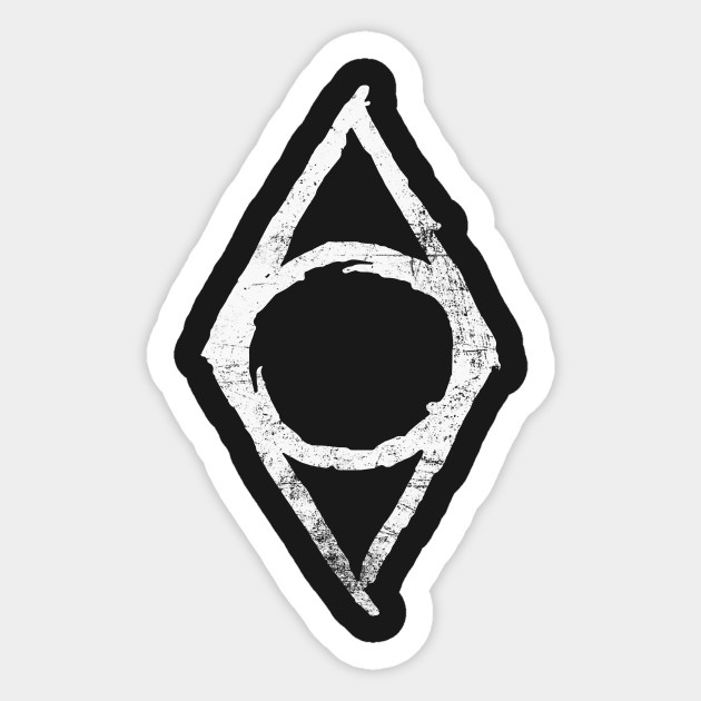 Thieves Guild Skyrim Sticker Teepublic