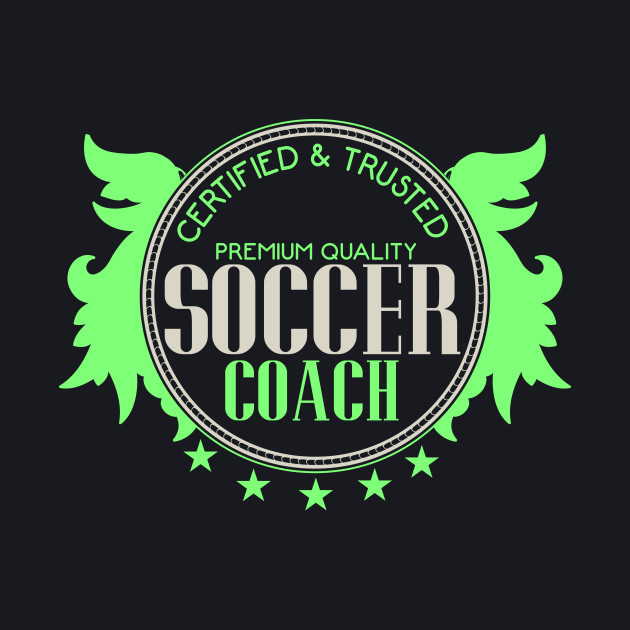 Soccer Coach Seal Badge | Football Sport Quality