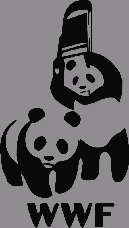 PANDA FIGHT Panda TShirt – Wwf Chair