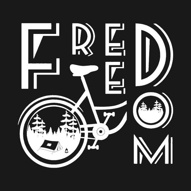 2ca450dd55f Mountain Bike Lover Bicycle Freedom World Bicycle Day TShirt