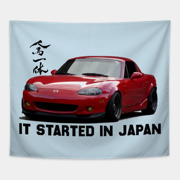 Mazda Miata / MX5 NB - Jinba Ittai, it all started in japan