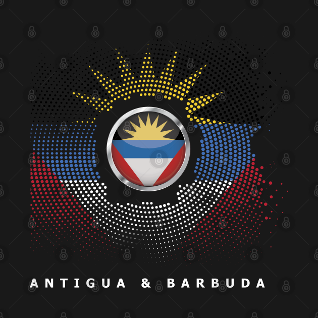 Antiguan And Barbudan Caribbean Country Saint Johns Gift Antigua & Barbuda