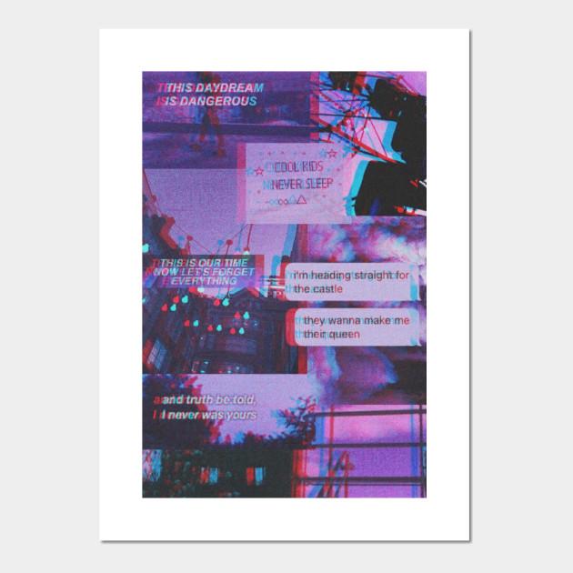 teenage aesthetic aesthetic posters and art prints teepublic au teepublic