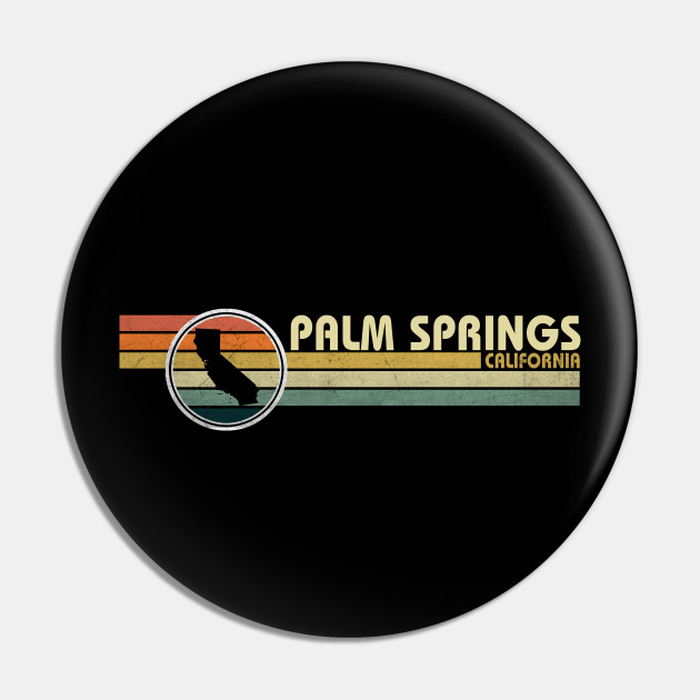 Palm Springs California vintage 1980s style