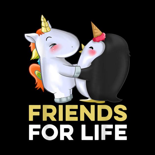 unicorn penguin friendship t shirt friendship quotes shirt