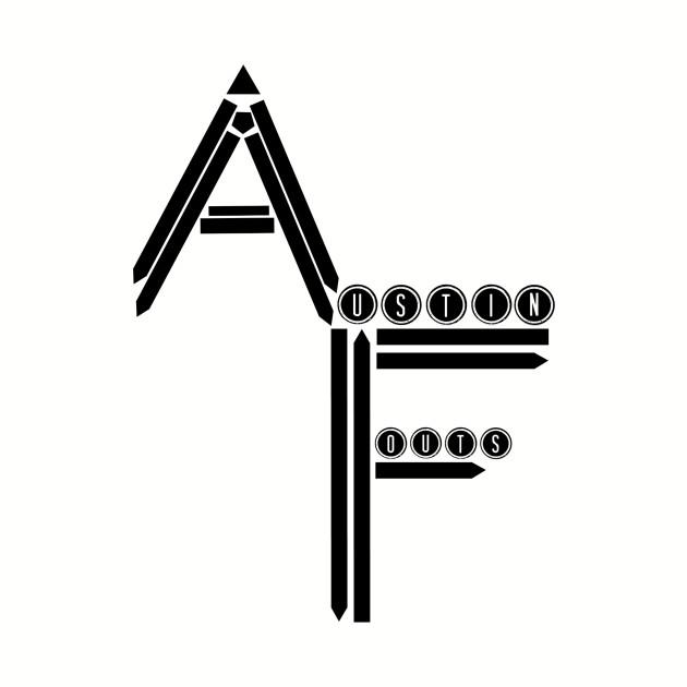 Austin Fouts Brand (Black Logo)