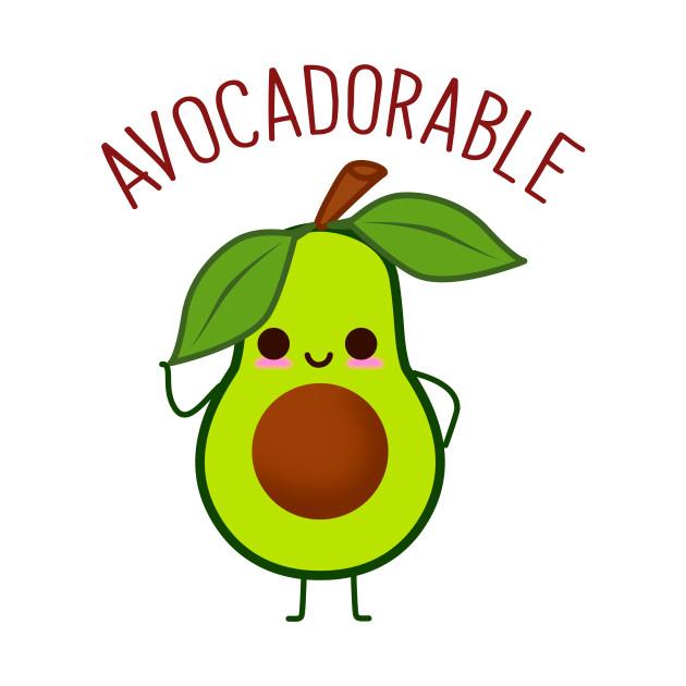 Avocadorable Cute Avocado - Avocado - Kids T-Shirt