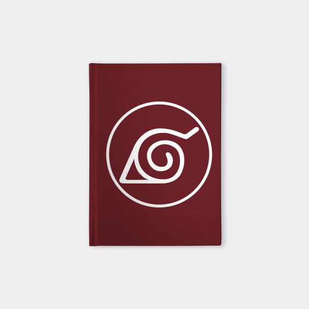Hidden Leaf Village Symbol Naruto Notebook Teepublic