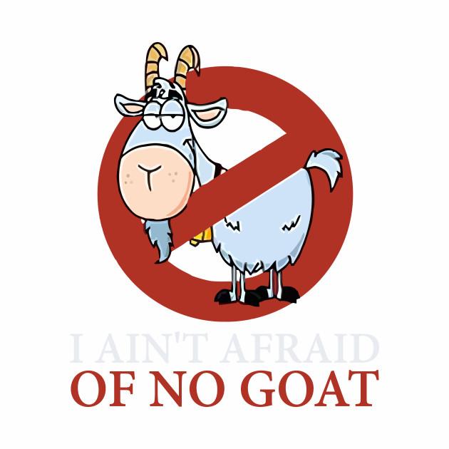 Bill Murray Cubs Shirt - I Ain't Afraid Of No Goat T-Shirt