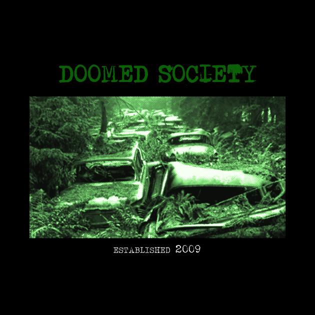 Doomed Society - Rotting Cars