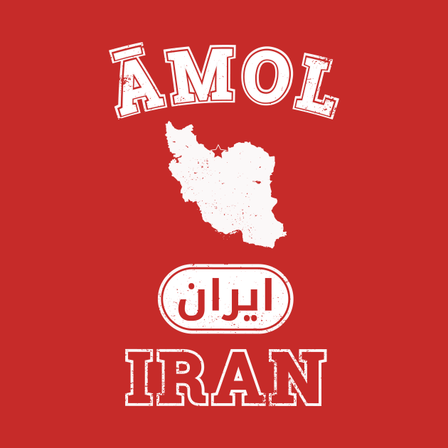 Amol Iran City Shirt - Amol - Baby Bodysuit TeePublic UK