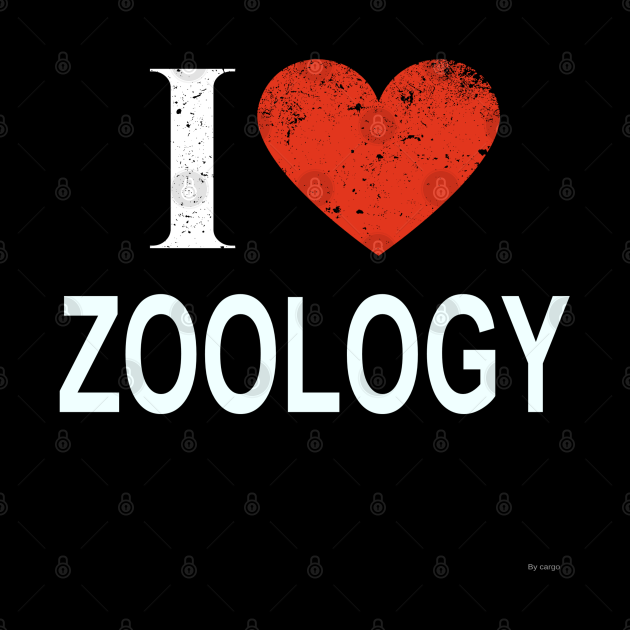 I Love Zoology - Gift for Zoologist in the field of Zoology