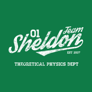 Team Sheldon t-shirts