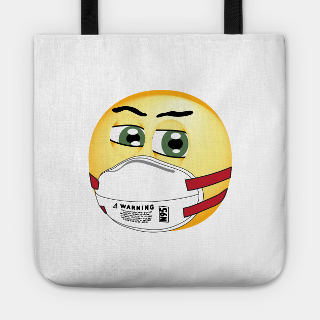 The New Normal Masked Up Covid 19 Emoji Coronavirus