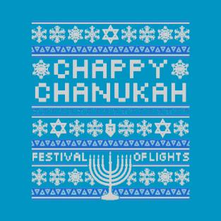 Chappy Chanukah Sweater t-shirts