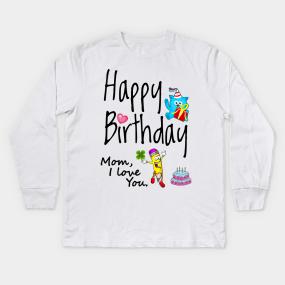 Birthday Grandma Kids Long Sleeve T Shirts