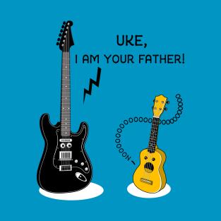 Uke I am your Father! t-shirts