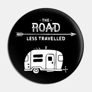 Caravan Caravaning Pin Badge