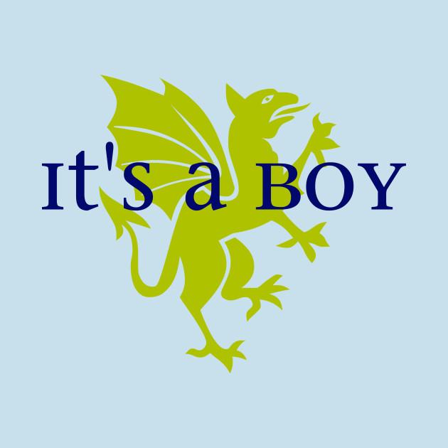 It's a Boy: Golden Dragon