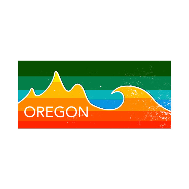 oregon mountains and ocean