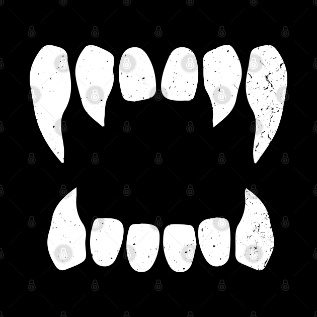 Vampire Vampire Teeth Bloodsucker Halloween
