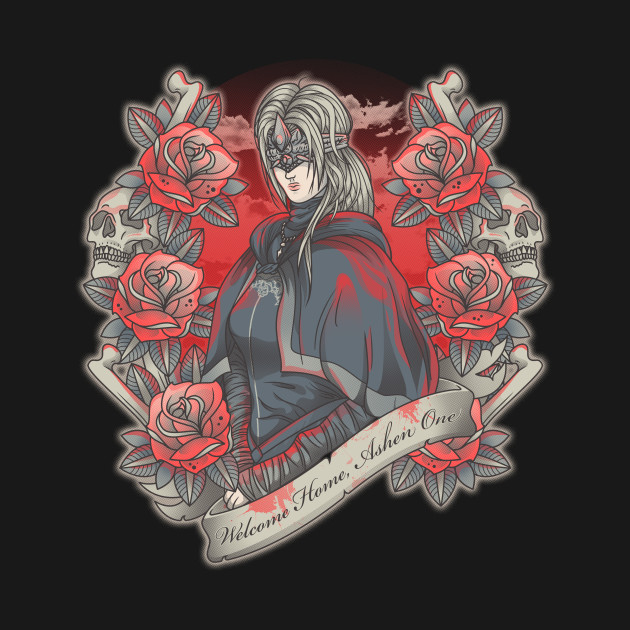 Welcome Home, Ashen One T-Shirt