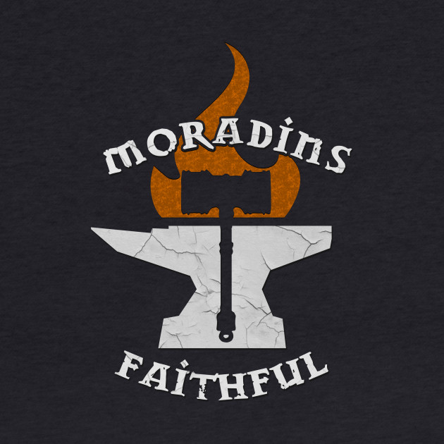 D&D Tee - Moradins Faithful