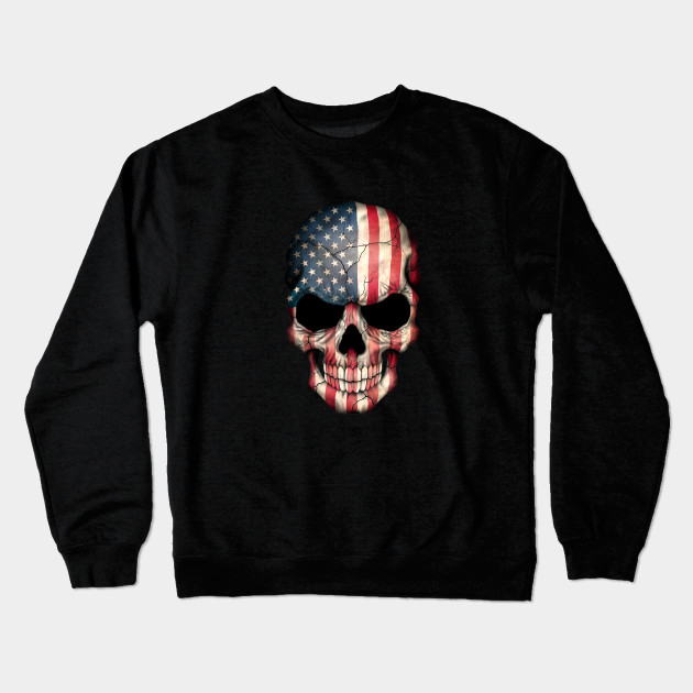 american flag skull - American Pride T Shirt
