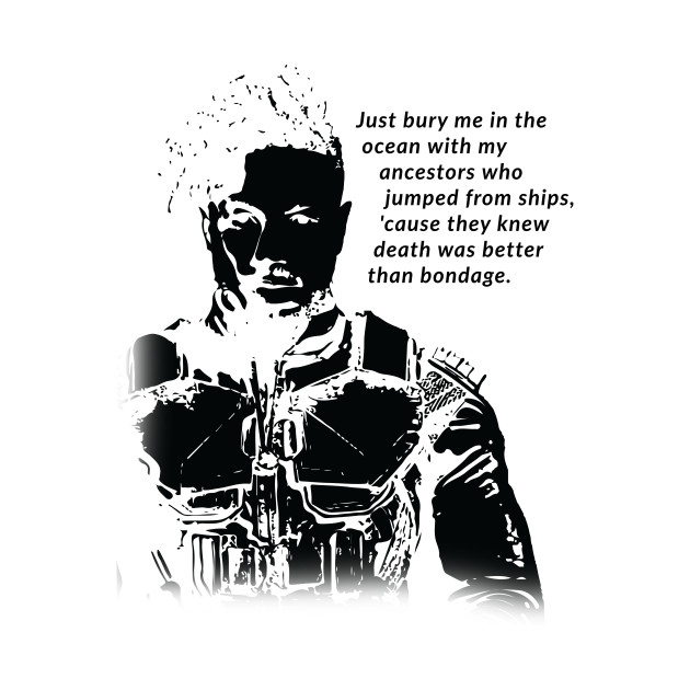 Pleasing Killmonger Quote T Shirt Inspired By Black Panther Bralicious Painted Fabric Chair Ideas Braliciousco