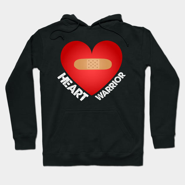 Heart Disease Awareness gift Heart Warrior Gifts Hoodie