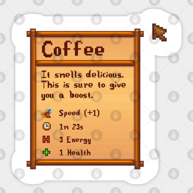 Stardew Valley Coffee