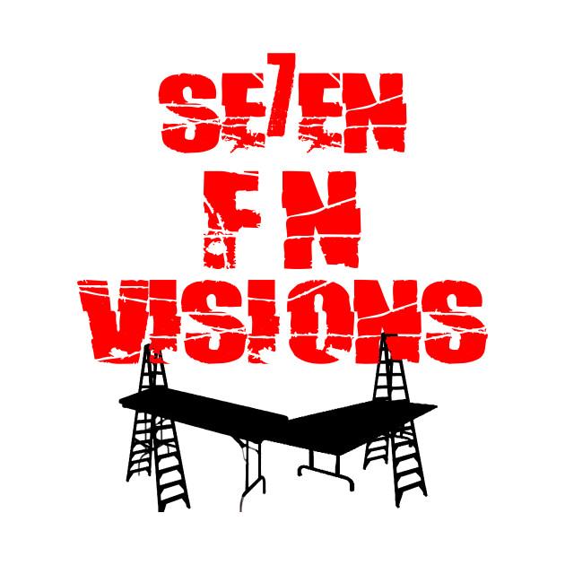 Se7en f'n vision wrestling shirt