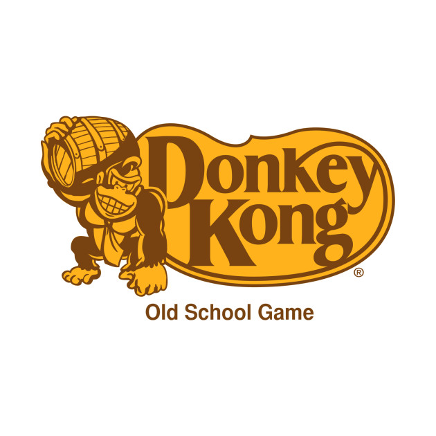 Donkey Kong Old School Game T-Shirt