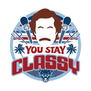 Stay Classy t-shirts