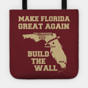 make florida great again garnet gold florida state t shirt teepublic. Black Bedroom Furniture Sets. Home Design Ideas