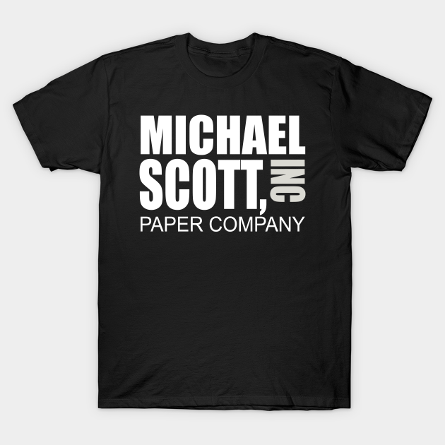 Michael Scott Paper Company The Office Unisex Youth Shirt