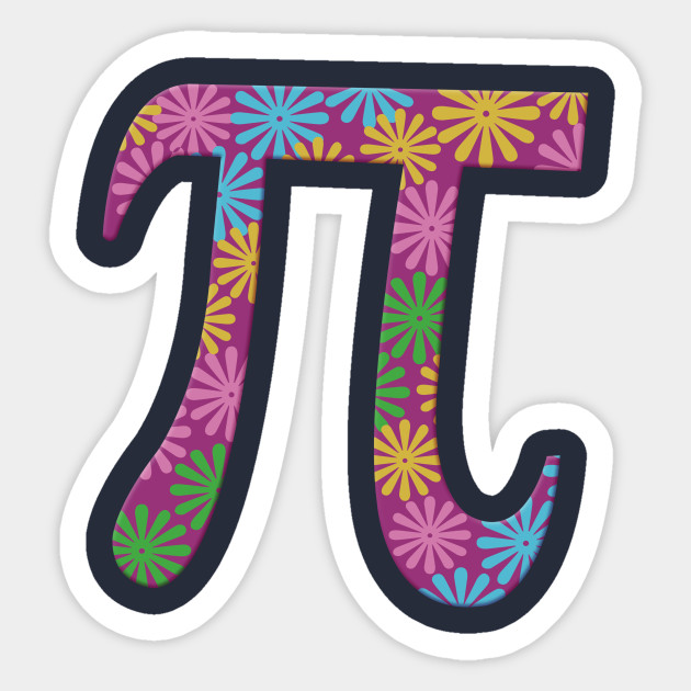 Spring Pi Tshirts Flowery Colorful Pi Day Gifts Spring Pi Flowery